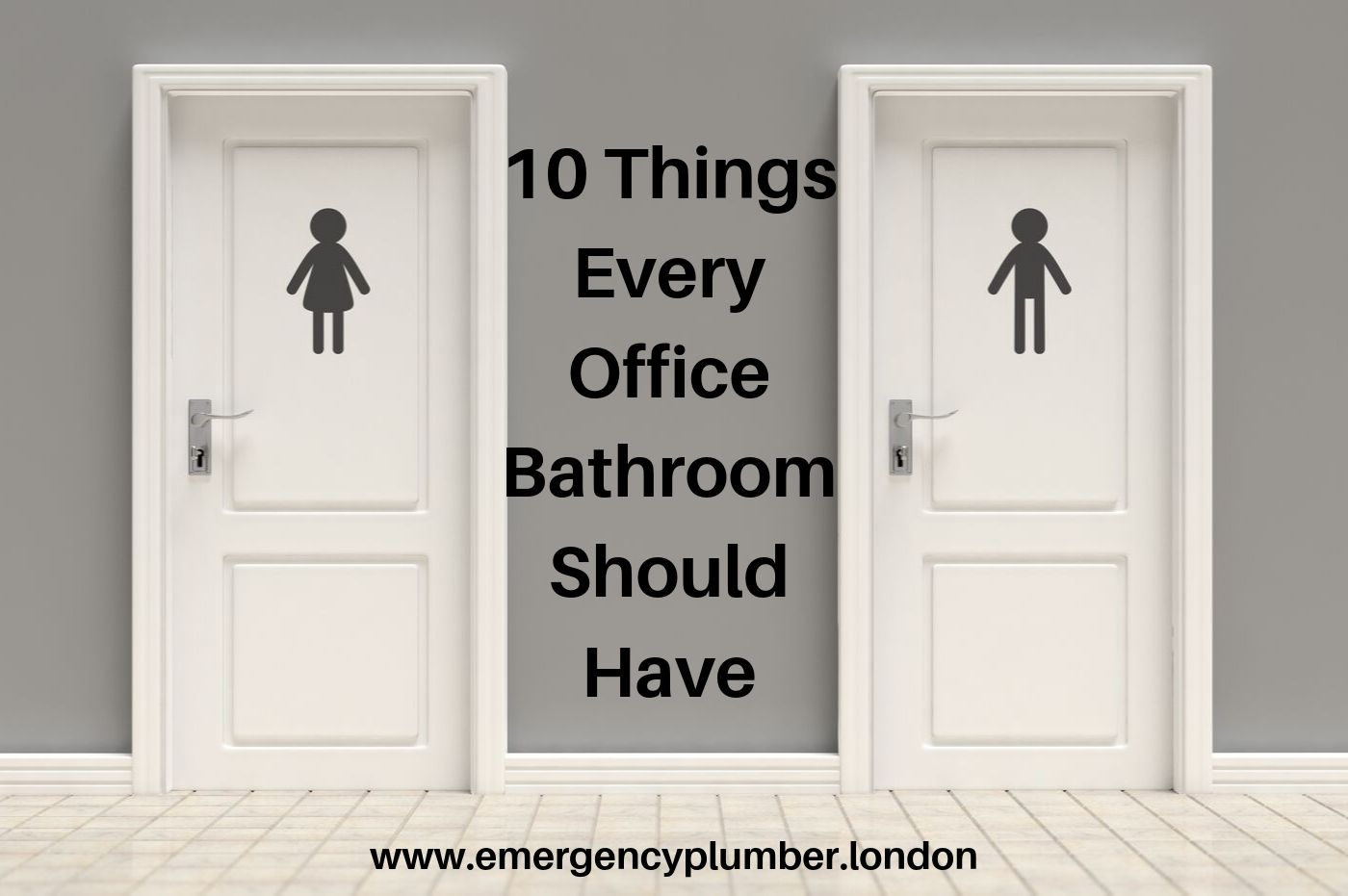 10 Things Every Office Bathroom Should Have