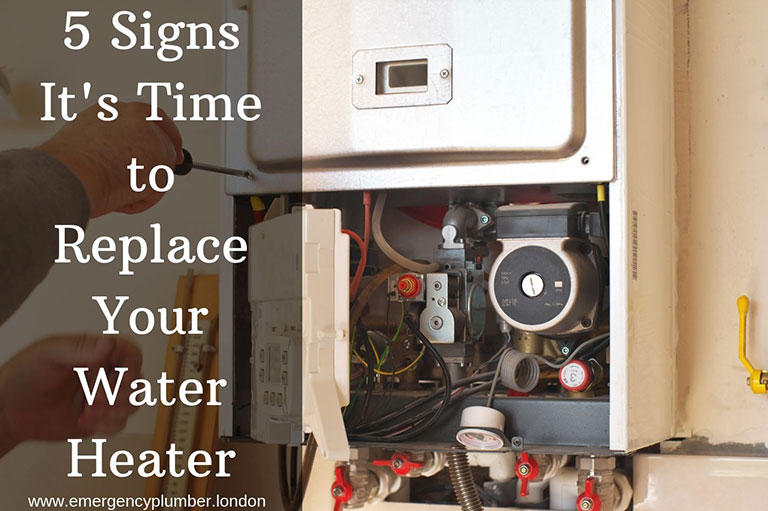 Knowing when to replace water heater