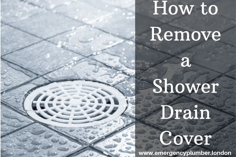 How to Remove a Shower Drain Cover