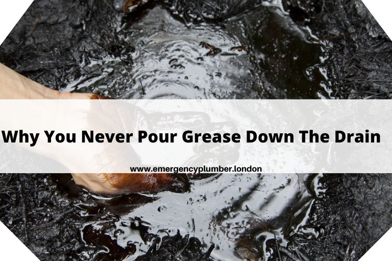 Why You Never Pour Grease Down The Drain