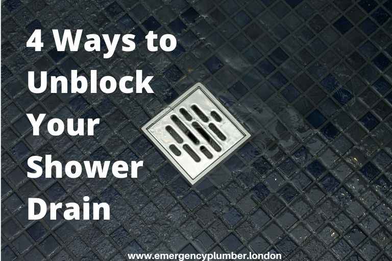 4 Ways to Unblock Your Shower Drain