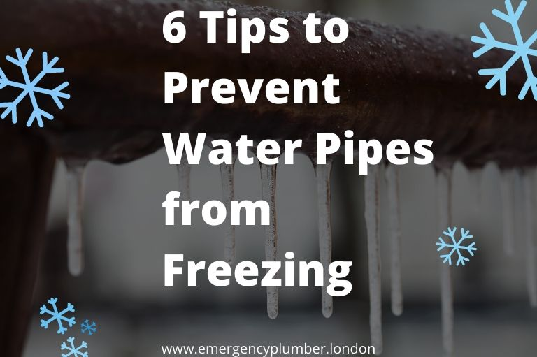 6 Great Tips to Prevent Water Pipes from Freezing
