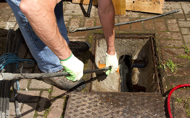 Drain unblocking services in West London